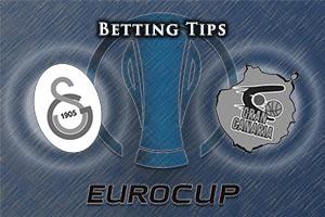 Galatasaray Odeabank Istanbul v Herbalife Gran Canaria Las Palmas Betting Tips