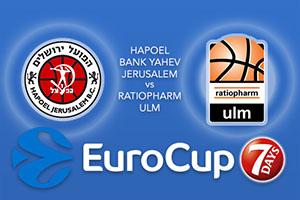 Hapoel Bank Yahav Jerusalem v ratiopharm Ulm