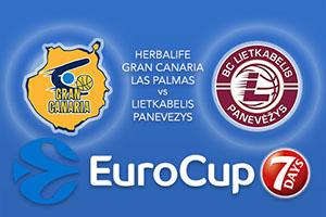 Herbalife Gran Canaria Las Palmas v Lietkabelis Panevezys - Eurocup Betting Tips