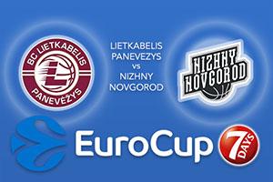Lietkabelis Panevezys v Nizhny Novgorod - Eurocup Tips