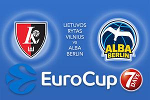 Lietuvos Rytas Vilnius v ALBA Berlin