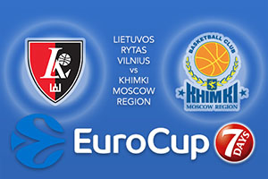 Lietuvos Rytas Vilnius v Khimki Moscow Region - Eurocup Betting Tips
