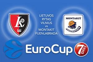 Lietuvos Rytas Vilnius v Montakit Fuenlabrada - Eurocup Betting Tips