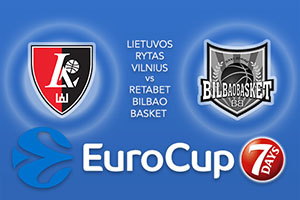 Lietuvos Rytas Vilnius v RETAbet Bilbao Basket
