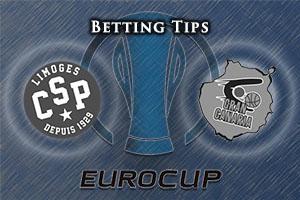 Limoges CSP v Herbalife Gran Canaria Las Palmas Betting Tips