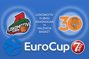 Lokomotiv Kuban Krasnodar v Valencia Basket - Eurocup Betting Tips
