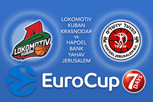 Lokomotiv Kuban Krasnodar v Hapoel Bank Yahav Jerusalem