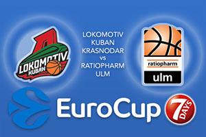 Lokomotiv Kuban Krasnodar v ratiopharm Ulm - Eurocup Tips