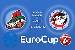 Lokomotiv Kuban Krasnodar v Union Olimpija Ljubljana - Eurocup Betting Tips