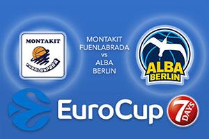 Montakit Fuenlabrada v ALBA Berlin - Eurocup Betting Tips