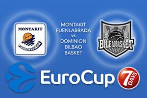 Montakit Fuenlabrada v Dominion Bilbao Basket - Eurocup Betting Tips