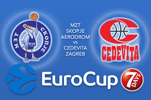 MZT Skopje Aerodrom v Cedevita Zagreb - Eurocup Tips