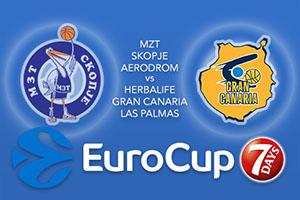 MZT Skopje Aerodrom v Herbalife Gran Canaria Las Palmas - Eurocup Betting Tips