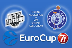Nizhny Novgorod v MZT Skopje Aerodrom - Eurocup Betting Tips