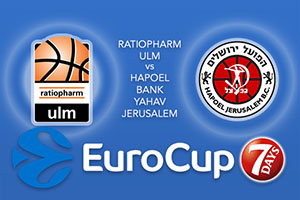Ratiopharm Ulm v Hapoel Bank Yahav Jerusalem - Eurocup Betting Tips
