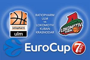 ratiopharm Ulm v Lokomotiv Kuban Krasnodar