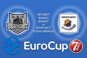 RETAbet Bilbao Basket v Montakit Fuenlabrada