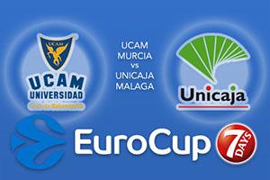 UCAM Murcia v Unicaja Malaga - Eurocup Betting Tips