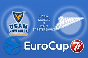 UCAM Murcia v Zenit St Petersburg