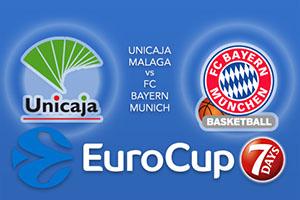 Unicaja Malaga v FC Bayern Munich - Eurocup Tips