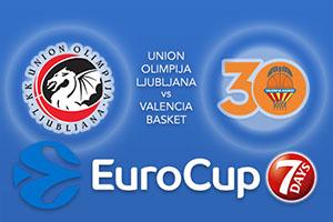 Union Olimpija Ljubljana v Valencia Basket