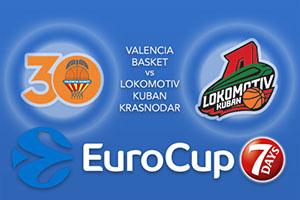 Valencia Basket v Lokomotiv Kuban Krasnodar