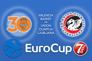 Valencia Basket v Union Olimpija Ljubljana - Eurocup Betting Tips