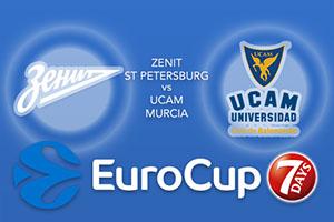 Zenit St Petersburg v UCAM Murcia - Eurocup Tips