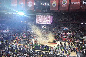 Euroleague Final Four 2015 Prize Ceremony