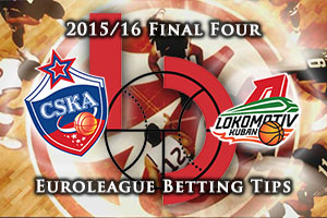 CSKA Moscow v Lokomotiv Kuban Krasnodar - Euroleague Final Four Betting Tips