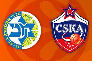 Euroleague Round Two - Maccabi Tel Aviv v CSKA Moscow Betting Tips