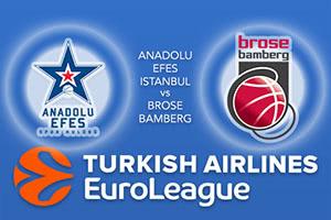 Anadolu Efes Istanbul v Brose Bamberg