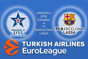 Anadolu Efes Istanbul v FC Barcelona Lassa