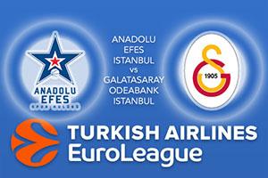 Anadolu Efes Istanbul v Galatasaray Odeabank Istanbul