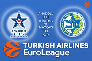 Anadolu Efes Istanbul v Maccabi FOX Tel Aviv