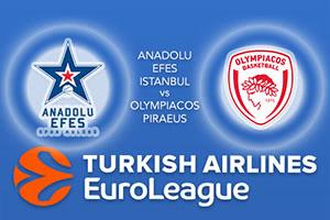 Anadolu Efes Istanbul v Olympiacos Piraeus