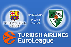 Barcelona v Zalgiris Kaunas - Euroleague Betting Tips