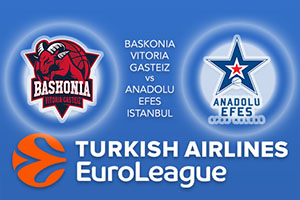 Euroleague Predictions - Baskonia Vitoria Gasteiz v Anadolu Efes Istanbul