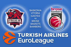 Baskonia Vitoria Gasteiz v Brose Bamberg - Euroleague Betting Tips