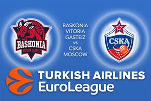 Baskonia Vitoria Gasteiz v CSKA Moscow
