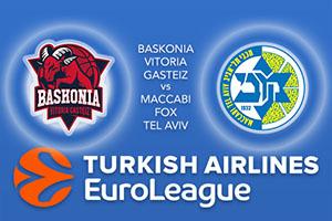 Baskonia Vitoria Gasteiz v Maccabi FOX Tel Aviv