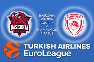 Euroleague Predictions – Baskonia Vitoria Gasteiz v Olympiacos Piraeus