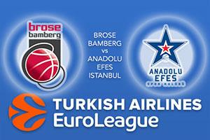Brose Bamberg v Anadolu Efes Istanbul