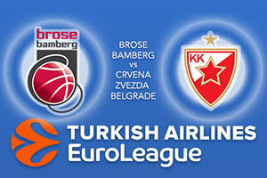 Brose Bamberg v Crvena Zvezda mts Belgrade - Euroleague Betting Tips