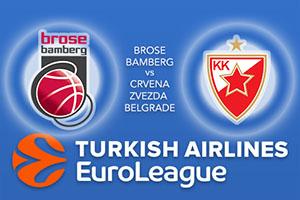 Brose Bamberg v Crvena Zvezda mts Belgrade - Euroleague Betting Tips