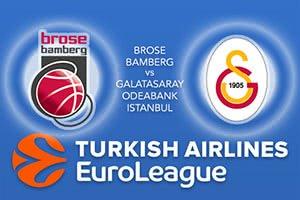 Brose Bamberg v Galatasaray Odeabank Istanbul