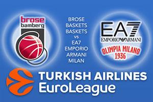 Euroleague Predictions – Brose Baskets Bamberg v EA7 Emporio Armani Milan