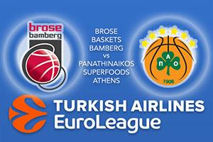 Euroleague Predictions – Brose Baskets Bamberg v Panathinaikos Superfoods Athens