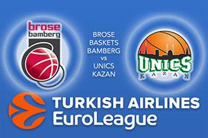 Euroleague Predictions - Brose Baskets Bamberg v UNICS Kazan