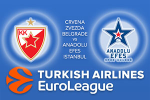 Crvena Zvezda mts Belgrade v Anadolu Efes Istanbul